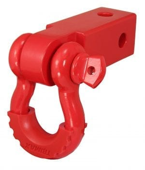 Red D-Ring Hitch